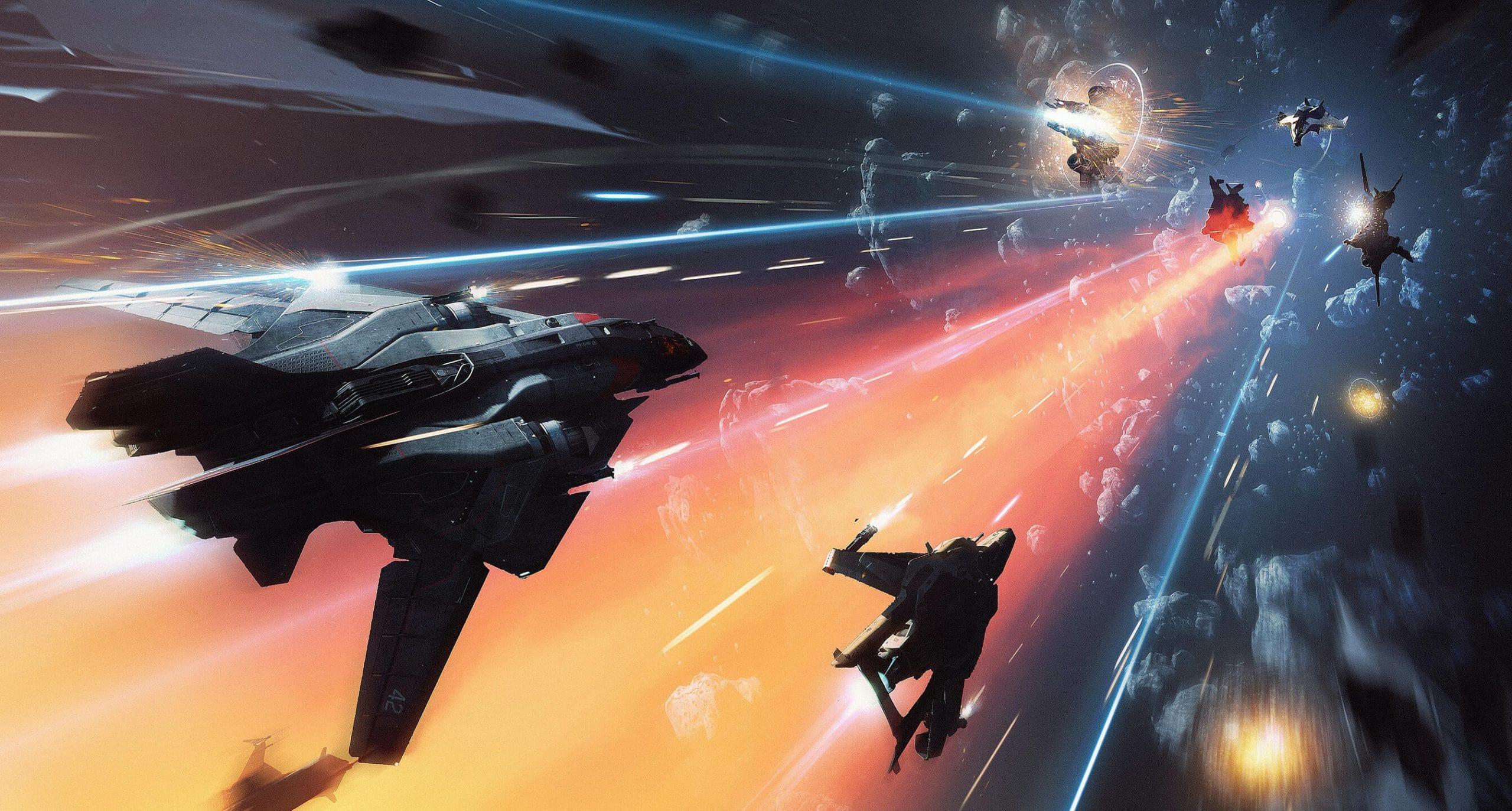 Star Citizen Ship Battle
